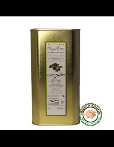 Lata 1L. Aceite de Oliva Virgen Extra Ecológico Oleo-Zufre