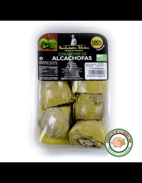 Corazones de Alcachofas en mitades
