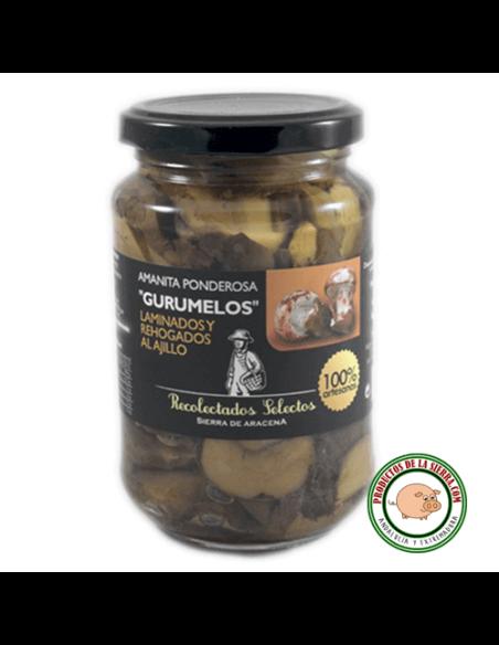 Amanita Ponderosa in Olive Oil