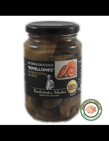 """Lactarius Deliciosus """"Niscalos"""" enteros"""