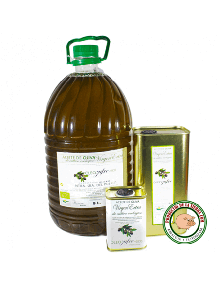Organic Extra Virgin Olive Oil 5 L.