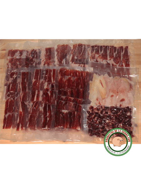 Bellota Iberian Ham (5 Kg.) Sliced and vacuumed sealed