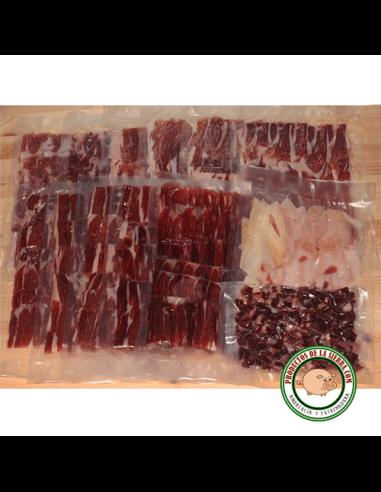 Iberian Ham Acorn Fed 5 Kg. Sliced and vacuumed sealed