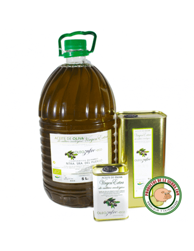 Organic Extra Virgin Olive Oil 5 L.