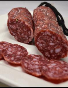 Iberian Ham Salami with Pedro Ximénez Wine