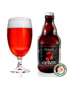 Craft beer with Cherry Flavour Cerex
