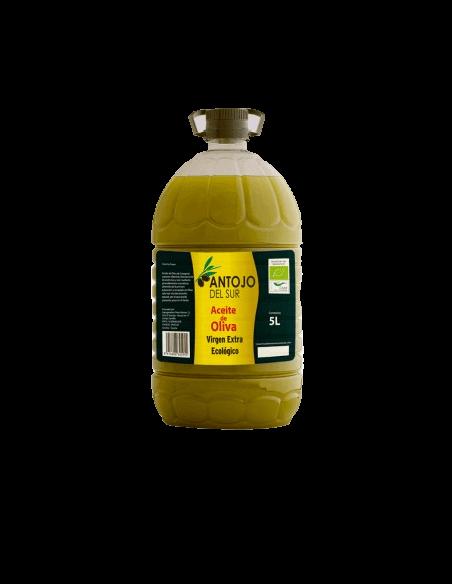 Organic Extra Virgin Olive Oil 5 L. Antojo del Sur