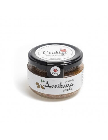 Organic Tapenade made with Green olives